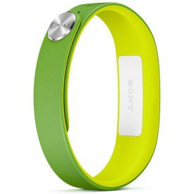 smartband sony swr10 verde amarelo