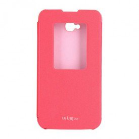 capa quick window lg l70 rosa frontal