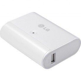 carregador portatil 5200 ma com suporte lg original