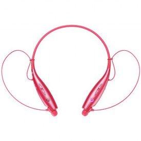 fone de ouvido bluetooth estereo lg origina rosa