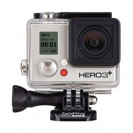 Frente da Gopro Hero3+ Silver Edition