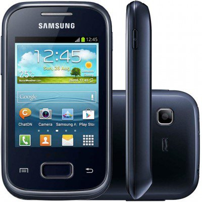 Celular Smartphone Samsung Galaxy Pocket Plus S5301 4gb Preto - 1 Chip
