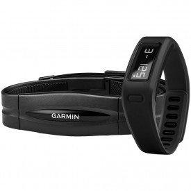 Garmin VívoFit Preta e Monitor Cardíaco
