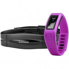Garmin VívoFit Roxa Monitor Cardíaco