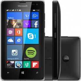 Microsoft Lumia 532 DTV Preto