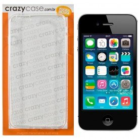 Capa TPU Transparente iPhone 4