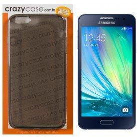 Capa TPU Fumê Samsung Galaxy A3