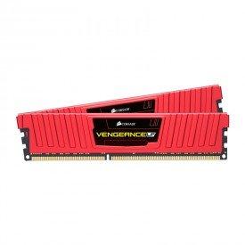 Memória RAM Corsair Vengeance LP 8GB Vermelho