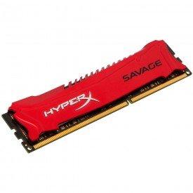 Memória Kingston Hyper x Savage 8GB Vermelho