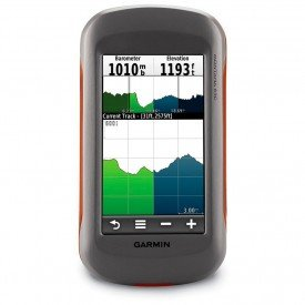 GPS Garmin Montana 650 Cinza Laranja