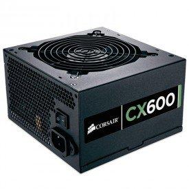 Fonte Corsair CX 600W CP9020048
