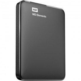 HD Externo Portátil WD Elements 1 TB WDBUZG0010BBK