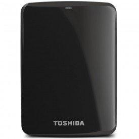 HD Externo Portátil Toshiba Canvio Connect 2TB HDTC720X Preto