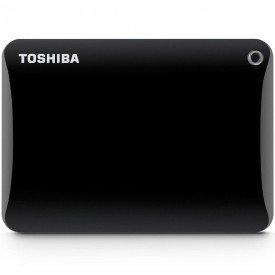 HD Externo Portátil Toshiba Canvio Connect II 2TB HDTC820XK3C1 Preto