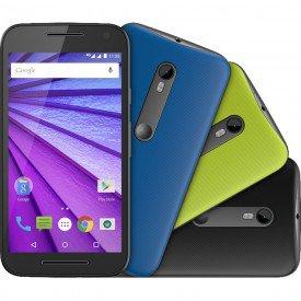 Motorola Moto G 3ª Geração XT1544 Colors HDTV Dual Preto