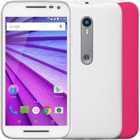 Motorola Moto G 3ª Geração Branco Pink