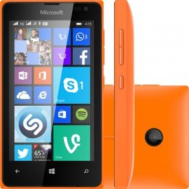 Microsoft Lumia 435 TV Laranja