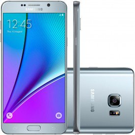 Samsung Galaxy Note 5 Prata