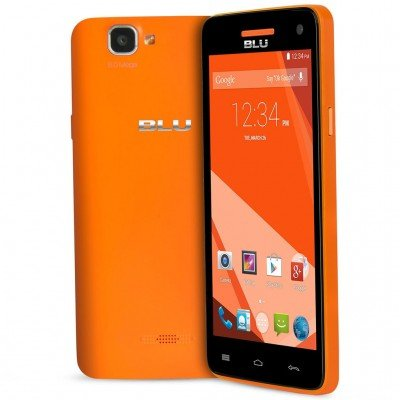 Celular Smartphone Blu Studio 5.0 D534l 4gb Laranja - Dual Chip