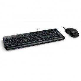 Teclado + Mouse com fio Microsoft Desktop 600