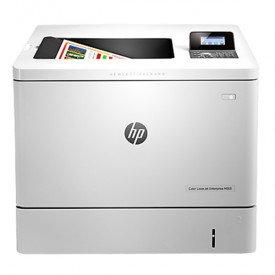 Frente Impressora HP Laserjet Color Enterprise M553DN B5L25A