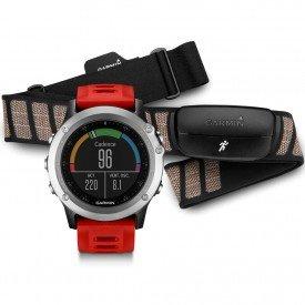 Relógio com GPS Garmin Fenix 3 Bundle