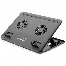 Cooler para Notebook Multilaser Duplo AC103
