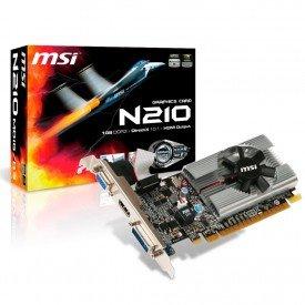 Placa de Vídeo MSI Geforce GT210 1GB
