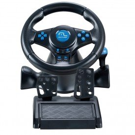 Volante Multilaser Racer para PS2 PS3 e PC - JS073