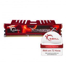 Memória Gskill Ripjaws 4GB (4GBx1) DDR3 1600MHz