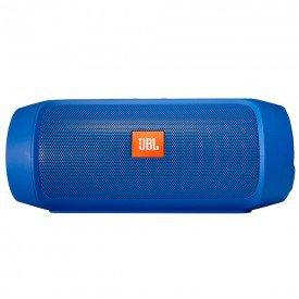 Caixa de Som Bluetooth JBL Charge 2 Plus Azul