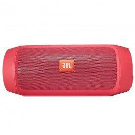 Caixa de Som Bluetooth JBL Charge 2 Plus Vermelho