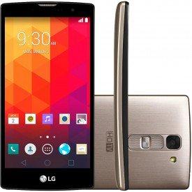 Smartphone LG Prime Plus TV Dourado