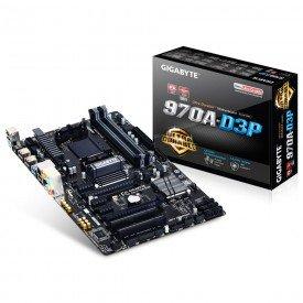 Placa Mãe Gigabyte AMD 970 AM3+