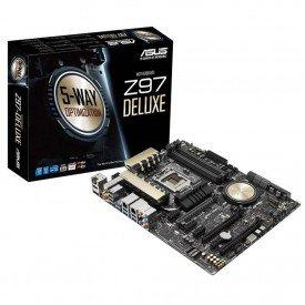 Placa Mãe ATX Intel LGA 1150 Z97-Deluxe