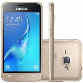 Smartphone Samsung Galaxy J1 2016 Dourado
