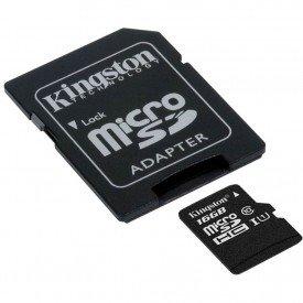 Micro SD Kingston 16GB Class 10