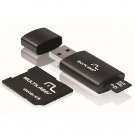 Micro SD Multilaser 32GB Kit Adaptador