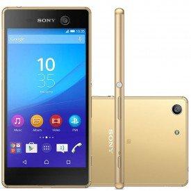 Smartphone Sony Xperia M5 E5643 Dourado