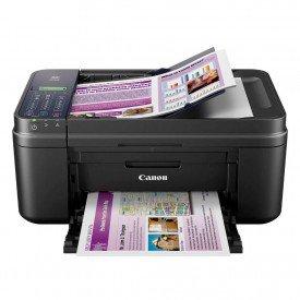 Impressora Multifuncional Canon Pixma E481 Preto