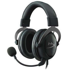 Headset Kingston HyperX Cloud II Cinza
