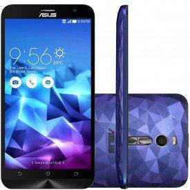 Smartphone Asus Zenfone 2 Deluxe Roxo