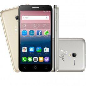 Smartphone Alcatel Pop 3 Dourado