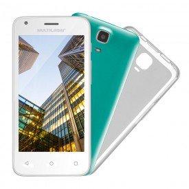 Smartphone Multilaser MS45S Branco