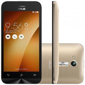 Smartphone Asus Zenfone Go 8GB Dourado