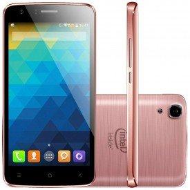 Smartphone Qbex X Rose W511 Rosa