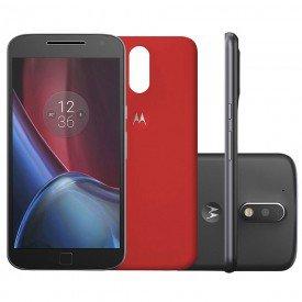 Motorola Moto G4 Plus XT1640 Preto