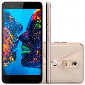 Smartphone Quantum Muv Dourado