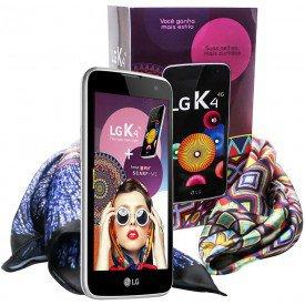 LG K4 Dual 4G K130F Lenço Blue Scarf Me
