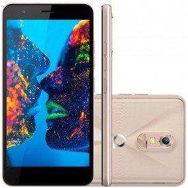 Smartphone Quantum Muv Pro Dourado